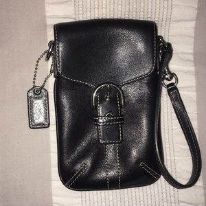 Coach Cell phone Wallet